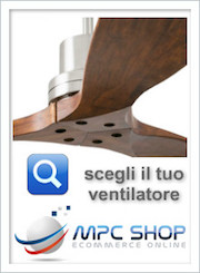 Ventilatori da soffitto Online